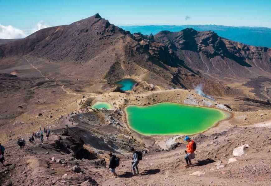 Le Tongagiro Alpine Crossing : une des plus belles randos du monde !